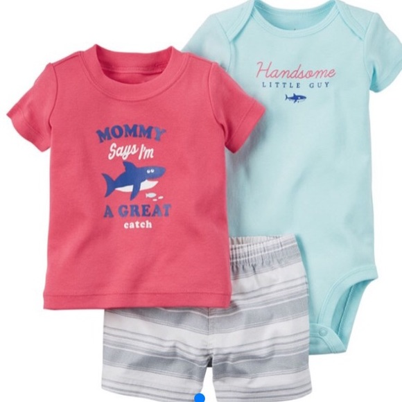 Carter/'s Baby Boys 3 Pc Pajama Set NWT Size 12 Months 18 Months